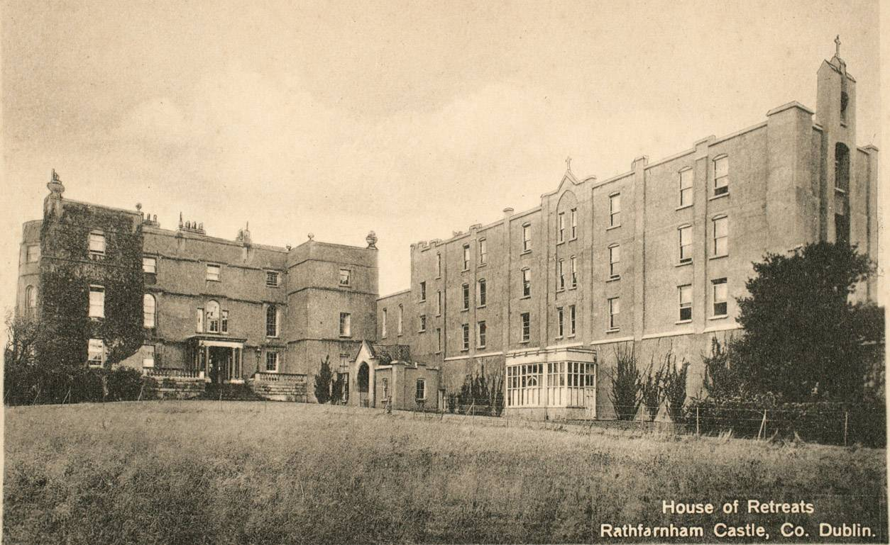 'House of Retreats' - Rathfarnham Castle under the Jesuits. Courtesy of the Irish Jesuit Archive.