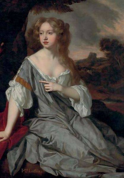 Lucy Brydges Loftus by Sir Peter Lely.